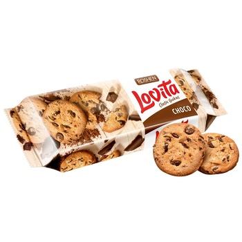 Печиво Roshen Lovita з шоколадними шматочками 150г