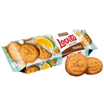Печиво Roshen Lovita Classic сдобное з цедрою апельсина 150г - купити, ціни на CітіМаркет - фото 1