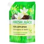 Крем-гель для душа Fresh Juice Sexy Mix лемонграс и ваниль 200мл