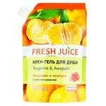 Крем-гель для душа Fresh Juice Hawaiian Paradise мандарин и авапухи 200мл