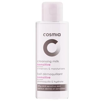Молочко для снятия макияжа Cosmia для чувствительной и сухой кожи 75мл - купить, цены на Ашан - фото 1
