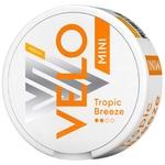 Безтютюнові нікотиновмісні паучі Velo Tropic Breeze Medium Mini