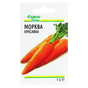 Семена Каждый День Морковь Красавка 2г