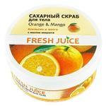 Fresh Juice Orange & Mango Sugar Body Scrub 225ml