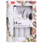 Cutlery sets Ardesto 24pcs China
