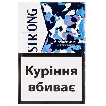 Сигариллы Strong Армейские - купить, цены на Ашан - фото 1