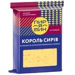 Сир Пирятинь Король сирів зі смаком та ароматом пряженого молока 50% 160г