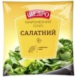 Майонезный соус Щедро Салатный 30% 380г