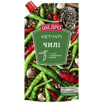Кетчуп Щедро Чили 250г