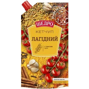 Кетчуп Щедро Нежный 250г - купить, цены на Таврия В - фото 1
