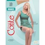 Колготи жіночі Conte Nuance 15ден р.4 Natural