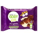 Коржі рисові Гуд Гут 84г міні з молочним шоколадом м/у Органік