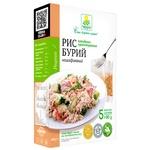 rice Terra brown ready-to-cook 400g Ukraine