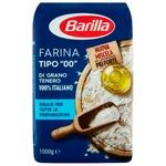 Борошно Барілла 1кг пшеничне з м'яких сортів