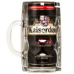 Пиво Кайзердом Дарк 4.7% 1л темне з/б в кружці