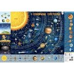 Карта солнечной системы детская