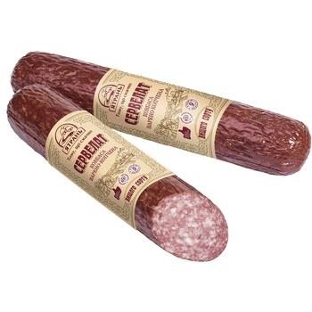 Yatran Sausage Servelat Boiled-smoked premium