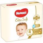 Подгузники Huggies Elite Soft 4 8-14кг 33шт