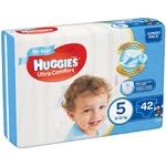 Huggies Jumbo Ultra Comfort Diapers for Boys 5 12-22kg 42pcs