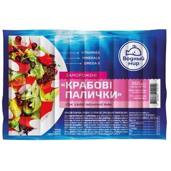 Vodniy Mir Frozen Crabsticks 360g - buy, prices for CityMarket - photo 1