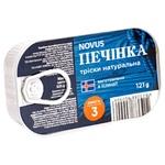 Novus Natural Cod Liver 121g