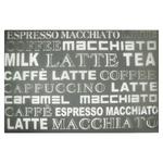 Zeller Latte Macchiato Rug under Plate 43,5х28,5cm mocha