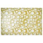 Zeller Loop Rug under Plate 43,5х28,5cm beige plastic