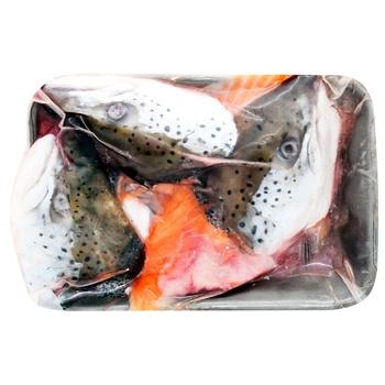 Суповой набор из лосося свежемороженый 1кг