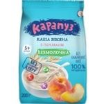 Karapuz Milk-free Oatmeal Porrige with Peach 200g