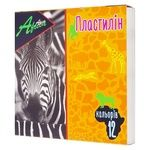 Economix Africa Plasticine 12 colors 240g