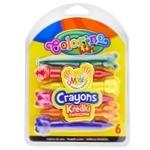 Colorino Kids Chalk Figured 6 Colors