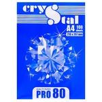 Бумага офисная Crystal Pro 80 А4 100 листов