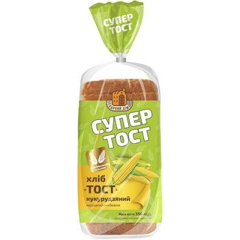 Kyivkhlib Sliced corn toast bread 350g