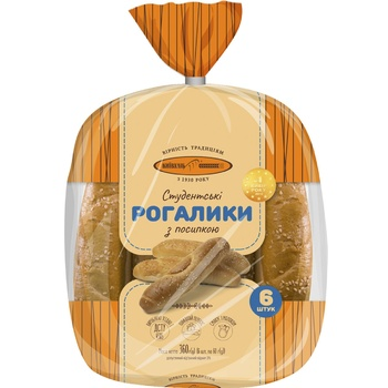 Kyivkhlib Studentski With Sesame Bagels 6pcs, 360g - buy, prices for Pchelka - photo 2