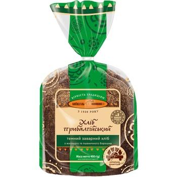 Kyivhlib Baltic Cutted Dark Bread Half 400g - buy, prices for CityMarket - photo 2