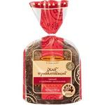 Хліб Київхліб Прибалтійський темний з насінням соняшника половина нарізка 400г