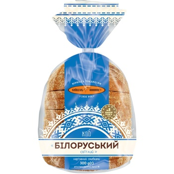 KuivHlib Belorussian Light Sliced Bread 300g - buy, prices for CityMarket - photo 2