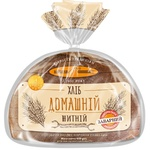 Хліб КиївХліб домашній житній нарізний 450г