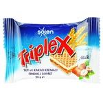 Вафли Triplex с фундуком молоком и какао кремом 20г