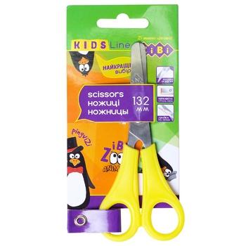 Ножницы Zibi детские с линейкой 132мм - купить, цены на Пчёлка - фото 2