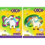 Zibi Kids Color paper A4 7 colors 14 sheets