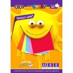 ZiBi Colored Cardboard A5 200g/m2 8 Sheets 8 Colors