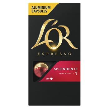L`OR Espresso Splendente Ground Coffee in Capsules 10pcs 52g - buy, prices for CityMarket - photo 2