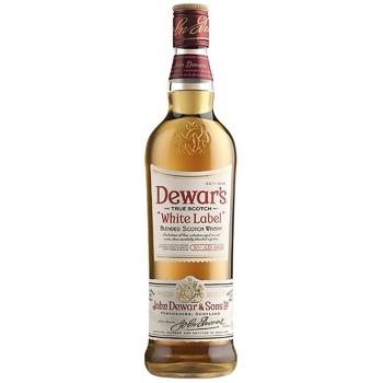 Dewar's White Label Blended Scotch Whisky 1l