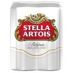 Пиво светлое Stella Artois 4 * 0,5л ж/б