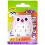 Zibi Owl Sharpener For Pencils With Container 2 holes