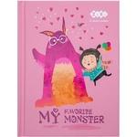 ZiBi Monster Notebook А6 64 Sheets