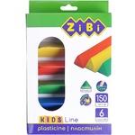 ZiBi Plasticine Kids Line 6 colors 150g