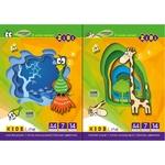 ZiBi Color Cardboard A4 14p 7 Colors assortment