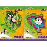 Картон кольоровий Zibi А4 10 кольорів 10 аркушів